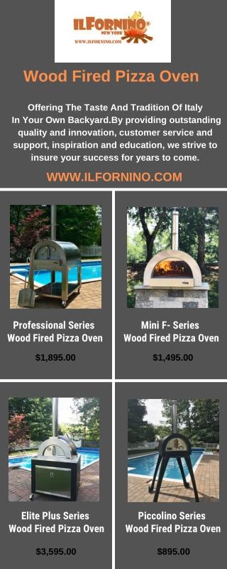 ilFornino Wood Burning Pizza Oven Series