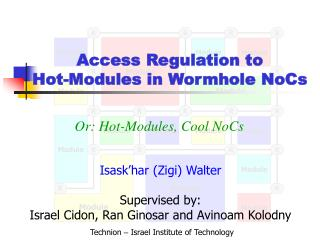 Access Regulation to Hot-Modules in Wormhole NoCs