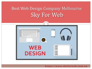 Best Web Design Company in Melbourne- Sky For Web