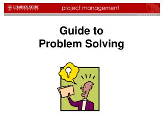 Guide to Problem Solving