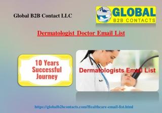 Dermatologist Doctor Email List