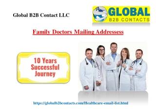Family Doctors Mailing Addressess