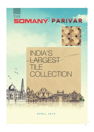 India's largest tile collection