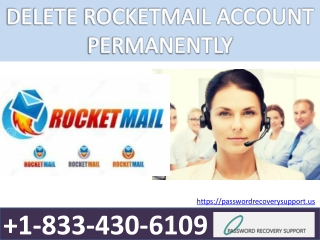 DELETE ROCKETMAIL ACCOUNT PERMANENTLY