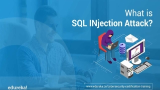 What is SQL Injection Attack | How to prevent SQL Injection Attacks? | Cybersecurity Training | Edureka