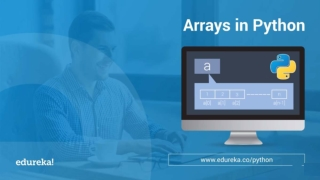 Arrays In Python | Python Array Operations | Edureka