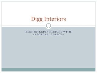 top interior designers in hyderabad - Digg Interiors