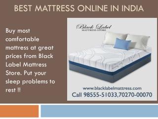 Best mattress Brand in india   Buy Mattress Online