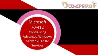 70-412 Dumps Download