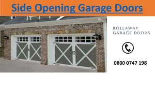 Side Opening Garage Doors