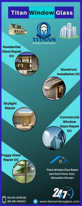 Need Residential Glass Repair Service | Call Titan Window Glass