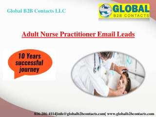Adult Nurse Practitioner Email Leads