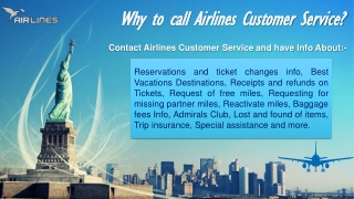 airlines phone Number