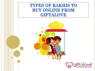 Send Beautiful Type oF Rakhi For New Born Baby