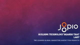 kickstarter and Technology marketing agency - Joopio
