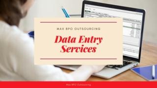 Outsource Copy Paste Data Entry Services
