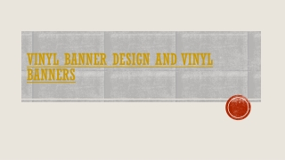 VINYL BANNERS & VINYL BANNER PRINTING
