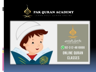 Online Quran Classes in USA