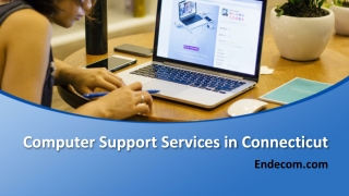 Computer Support Services in Connecticut - Endecom.com