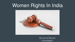 Women Rights In India By Kunal Bansal Chandigarh