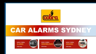 Types of Car Alarm Systems – What are Your Options?