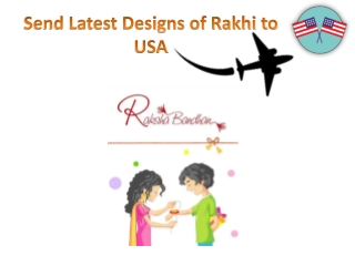 Send Rakhi to USA with Free Shipping Service via GiftaLove