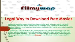 filmywap Online Presentations Channel