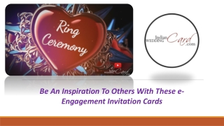 E-Engagement Invitations Cards Online