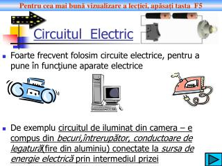 Circuitul  Electric