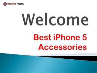 Best iPhone 5 Accessories