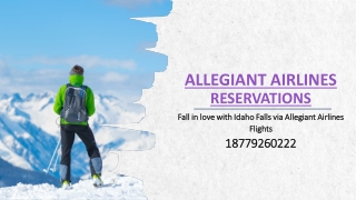 Fall in love with Idaho Falls via Allegiant Airlines Flights