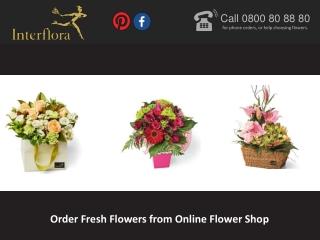 Order Fresh Flowers from Online Flower Shop