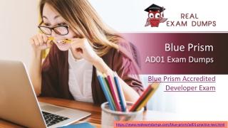 Blue Prism AD01 Exam Question – Full Money Back Guarantee