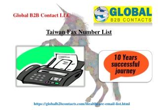 Taiwan Fax Number List
