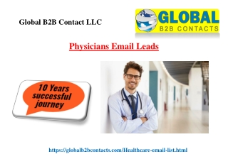 Physicians Email Leads
