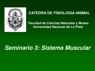 CATEDRA DE FISIOLOGIA ANIMAL