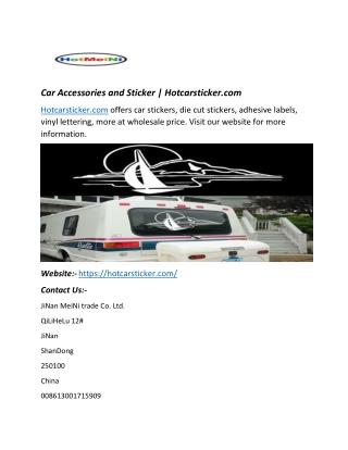 Car Accessories and Sticker   Hotcarsticker.com