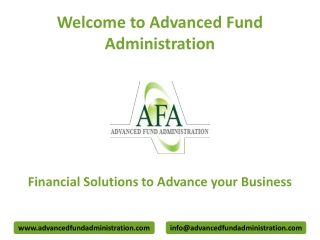 Bespoke Corporate Secretarial Services to Manage Your Investment Fund