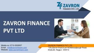 Instant Personal Loan- Zavron Finserv