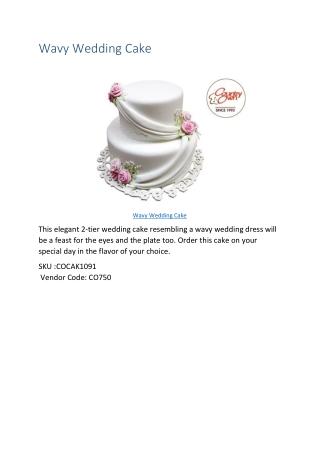 Wedding Cake to India
