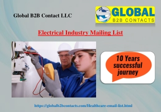 Electrical Industry Mailing List