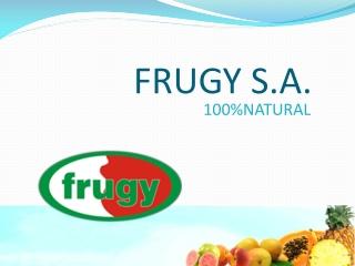 EMPRESA FRUGY