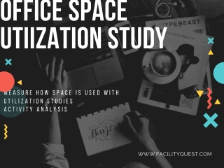Workplace space utilization with Facility quest
