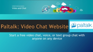 Video Chat Websites