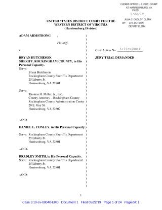 Rockingham County Sheriff's Virginia Scandal