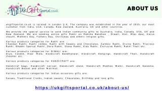 Rakhi Gifts Delivery Worldwide, Send Rakhi Online - UK Gifts Portal