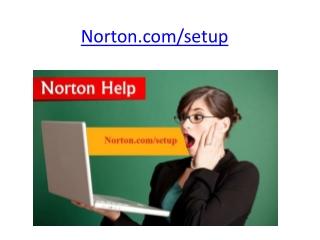 Norton.com/setup | Enter Norton Product Key | www.norton.com/setup