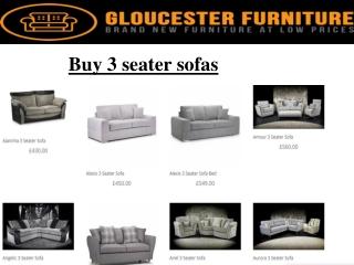 buy 3 seater sofa