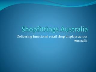 Shopfittings Australia - display shop counters cabinets
