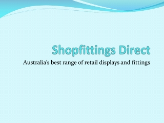 Shopfittings Direct - outrigger grocery shelving